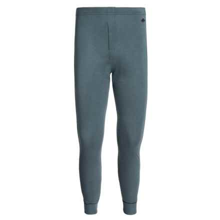 Hot Chillys Geo-Pro Fly Base Layer Bottoms - UPF 30+, Midweight (For Men) in Slate Heather - Closeouts