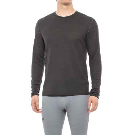 Hot Chillys Geo-Pro Waffled Base Layer Top - Long Sleeve (For Men) in Charcoal - Closeouts