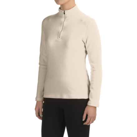 Hot Chillys La Montana Base Layer Top - Heavyweight, Zip Neck (For Women) in Ivory - Closeouts