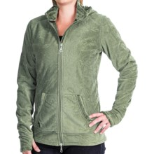 Hot Chillys La Paz Fleece Jacket - Zip Front (For Women) in Aloe - Closeouts