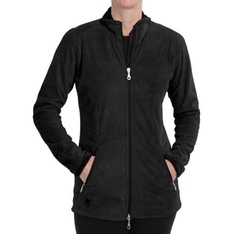 Hot Chillys La Paz Zip Jacket (For Women) in Black