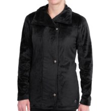 Hot Chillys La Reina Zip Jacket - Fleece (For Women) in Black - Closeouts