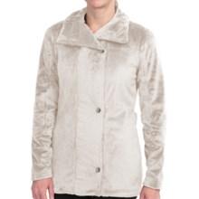 Hot Chillys La Reina Zip Jacket - Fleece (For Women) in Creme - Closeouts