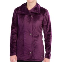 Hot Chillys La Reina Zip Jacket - Fleece (For Women) in Eggplant - Closeouts