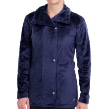 Hot Chillys La Reina Zip Jacket - Fleece (For Women) in Indigo - Closeouts