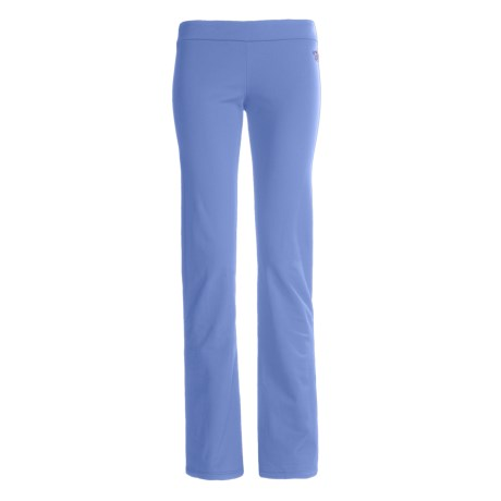 Hot Chillys Micro-Elite Brushed Pants - Bootcut (For Women) in 268 Sky