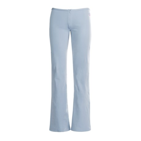 Hot Chillys Micro-Elite Brushed Pants with Zipper - Bootcut (For Women) in Pink