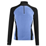 Hot Chillys Micro-Elite Brushed Top - Heavyweight Base Layer, Zip Neck, Long Sleeve (For Women)