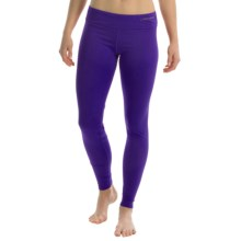 Hot Chillys Micro-Elite Chamois Base Layer Leggings - UPF 30+ (For Women) in Blue Berry - Closeouts