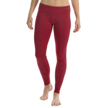 Hot Chillys Micro-Elite Chamois Base Layer Leggings - UPF 30+ (For Women) in Chili - Closeouts