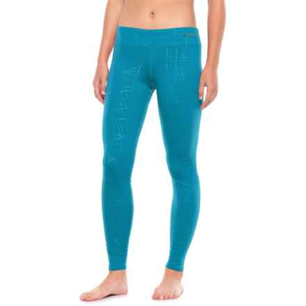 Hot Chillys Micro Elite Chamois Base Layer Pants (For Women) in Malibu - Closeouts