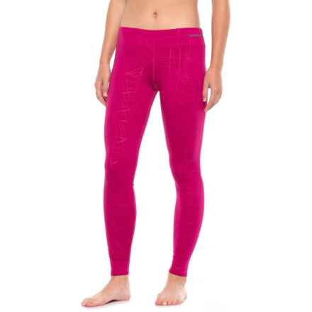 Hot Chillys Micro Elite Chamois Base Layer Pants (For Women) in Razzle - Closeouts