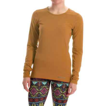 Hot Chillys Micro-Elite Chamois Base Layer Top - UPF 30+, Long Sleeve (For Women) in Antique - Closeouts