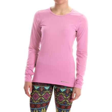 Hot Chillys Micro-Elite Chamois Base Layer Top - UPF 30+, Long Sleeve (For Women) in Passion - Closeouts
