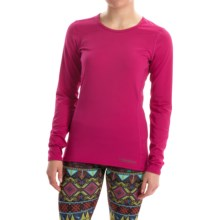 Hot Chillys Micro-Elite Chamois Base Layer Top - UPF 30+, Long Sleeve (For Women) in Razzle - Closeouts
