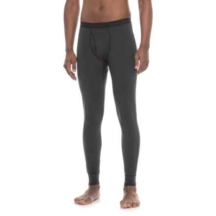 Hot Chillys Midweight Base Layer Pants (For Men) in Black - Closeouts