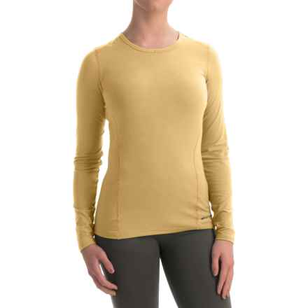 Hot Chillys MTF4000 Base Layer Top - Scoop Neck, Long Sleeve (For Women) in Butter - Closeouts