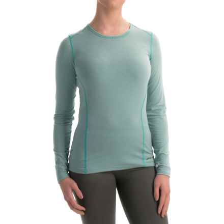 Hot Chillys MTF4000 Base Layer Top - Scoop Neck, Long Sleeve (For Women) in Coastal - Closeouts