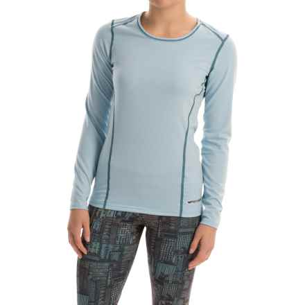 Hot Chillys MTF4000 Base Layer Top - Scoop Neck, Long Sleeve (For Women) in Glacier - Closeouts