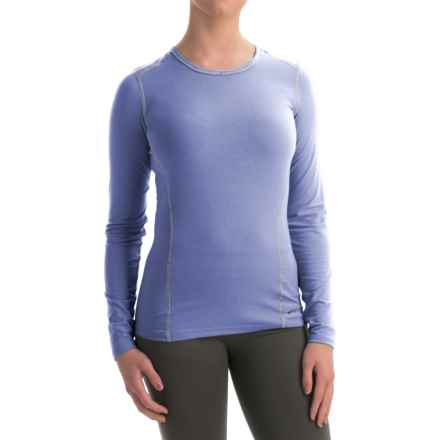 Hot Chillys MTF4000 Base Layer Top - Scoop Neck, Long Sleeve (For Women) in Lavender - Closeouts