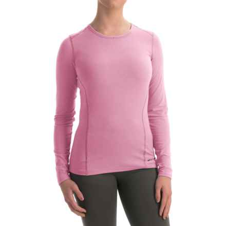 Hot Chillys MTF4000 Base Layer Top - Scoop Neck, Long Sleeve (For Women) in Passion - Closeouts