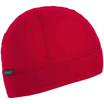 Hot Chillys MTF4000 Helmet Liner Beanie (For Women) in Crimson/Black - Overstock