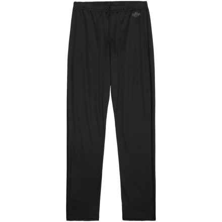 Hot Chillys Peachbottom MTF Base Layer Pants - UPF 30+ (For Kids) in Black - Closeouts