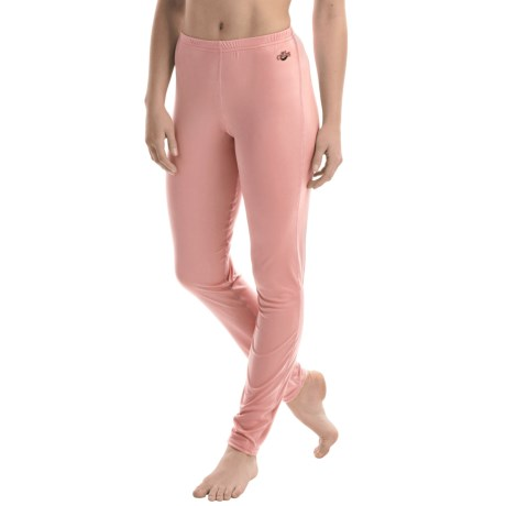 Hot Chillys Peachskins Base Layer Bottoms - UPF 30+ (For Women) in Peach