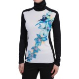 Hot Chillys Peachskins Turtleneck - Midweight Base Layer, Long Sleeve (For Women)