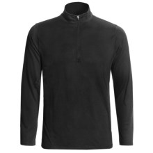 Hot Chillys Pepper Bi-Ply Base Layer Top - Midweight, Zip Neck, Long Sleeve (For Men) in Black - Closeouts