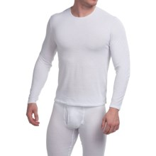Hot Chillys Pepper Skins Base Layer Top - Long Sleeve (For Men) in White - Closeouts