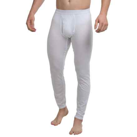 Hot Chillys Pepper Skins Mid Base Layer Bottoms (For Men) in White - Closeouts
