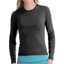 Hot Chillys Pepper Stretch Base Layer Top - Midweight, Crew Neck, Long Sleeve (For Women) in Black - Closeouts