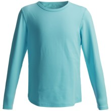 Hot Chillys Pepper Stretch Base Layer Top - Midweight, Long Sleeve (For Little and Big Kids) in Surf - Closeouts