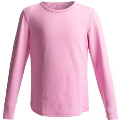 Hot Chillys Pepper Stretch Base Layer Top - Midweight, Long Sleeve (For Youth) in Passion