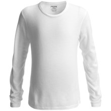 Hot Chillys Pepperskins Base Layer Top - Midweight, Crew Neck, Long Sleeve (For Youth) in White - Closeouts