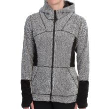 Hot Chillys Pico Fleece Jacket - Zip Front (For Women) in Domino - Closeouts