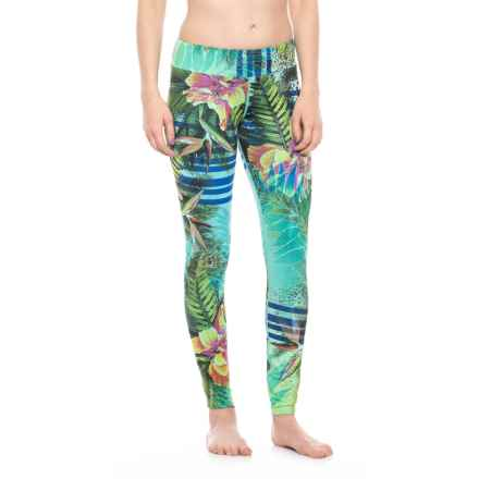 Hot Chillys Sub Print Base Layer Pants (For Women) in Gidget - Closeouts