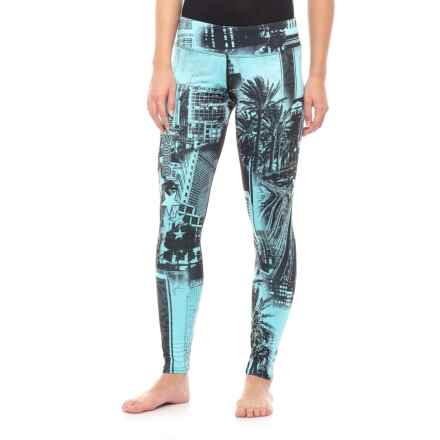 604f7cad26 Hot Chillys Sub Print Base Layer Pants (For Women) in Hollywood - Closeouts