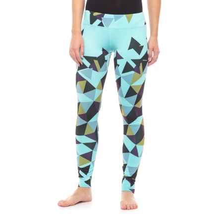 Hot Chillys Sub Print Base Layer Pants (For Women) in Magnetic - Closeouts