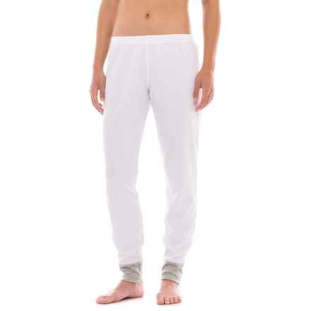 Hot Chillys Waffle XLS Pants (For Women) in White - Closeouts
