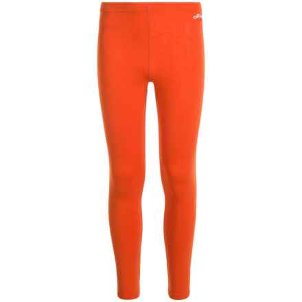 Hot Chillys Youth Originals II Ankle Tight Leggings - UPF 30 + (For Little and Big Kids) in Cayenne - Closeouts