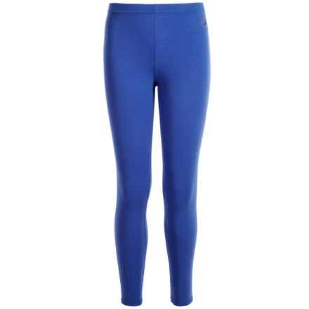 Hot Chillys Youth Originals II Ankle Tight Leggings - UPF 30 + (For Little and Big Kids) in Vivid Blue - Closeouts