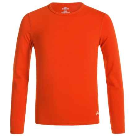 Hot Chillys Youth Originals II MTF Base Layer Top - UPF 30+, Long Sleeve (For Little and Big Kids) in Cayenne - Closeouts