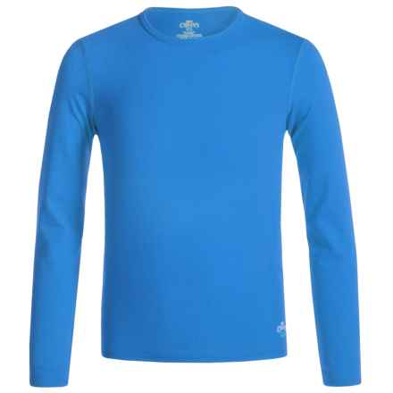 Hot Chillys Youth Originals II MTF Base Layer Top - UPF 30+, Long Sleeve (For Little and Big Kids) in Vivid Blue - Closeouts