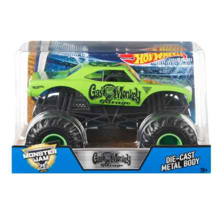 Hot Wheels MJ Gas Monkey Car - 1:24 scale in See Photo - Closeouts