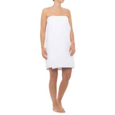 Hotel Balfour Waffle-Weave Spa Wrap Towel in White - Closeouts