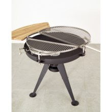 Hotspot by Fire Sense Dual Deck Charcoal BBQ Grill in See Photo - Closeouts