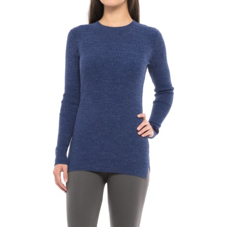 Hottotties Ribbed Lounge Sweater (For Women)