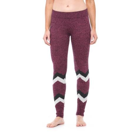 Hottotties Sweater Leggings (For Women) in Berry Mix